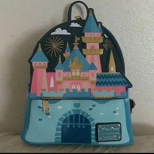 Disney Fantasyland castle backpack